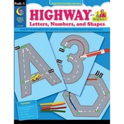Creative Teaching Press Highway Letters, Numbers and Shapes, Grades Pre Kindergarten - 1
