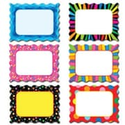 Creative Teaching Press Toddler - 12th Grades Designer Cut-Out Card Accents, Poppin Patterns®