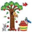 Creative Teaching Press™ Bulletin Board Set, Apple Tree