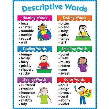 Creative Teaching Press™ Descriptive Words Chart