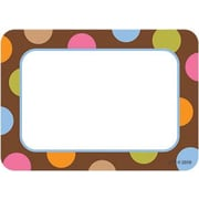 Creative Teaching Press™ Infant - 12th Grades Name Tag, Dots On Chocolate®