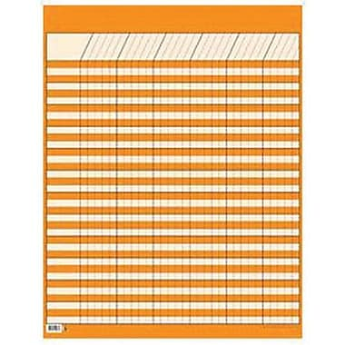 Creative Teaching Press™ Large Vertical Incentive Chart, Orange