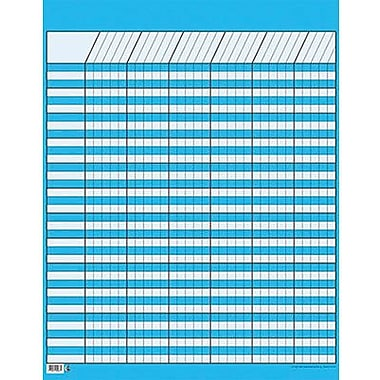 Creative Teaching Press™ Large Vertical Incentive Chart, Blue