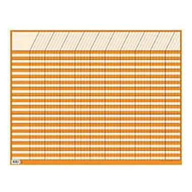 Creative Teaching Press™ Large Horizontal Incentive Chart, Orange