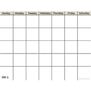 Creative Teaching Press™ Calendar Chart, White Small Horizontal