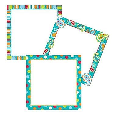 Creative Teaching Press™ Toddler - 12th Grades Designer Cut-Out Card Accents, Dots On Turquoise