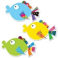 Creative Teaching Press™ 6in. Designer Cut-Outs, Fancy Fish
