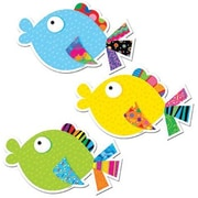 "Creative Teaching Press 6"" Designer Cut-Outs, Fancy Fish"