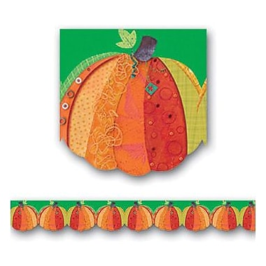 Creative Teaching Press™ pre-school - 12th Grades Scalloped Bulletin Board Border, Pumpkin Harvest