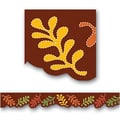 Creative Teaching Press™ preschool - 12th Grades Bulletin Board Border, Fall Leaves