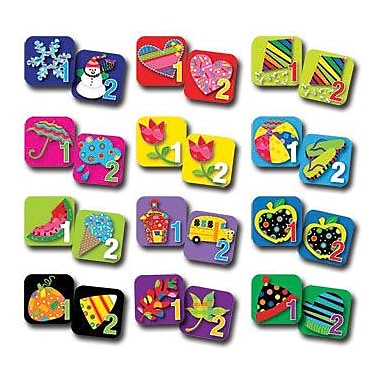 Creative Teaching Press Seasonal Calendar Days, Poppin Patterns®, 12/Pack