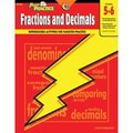 Creative Teaching Press™ Power Practice Fractions and Decimals Book, Grades 5th -6th