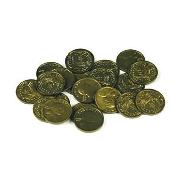 Learning Advantage™ Dollar Coins Set, 50 Coins, Grades Kindergarten+
