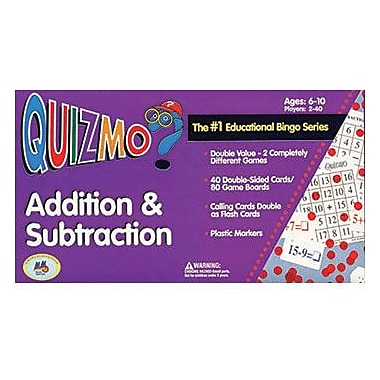 Learning Advantage™ Addition and Subtraction Game