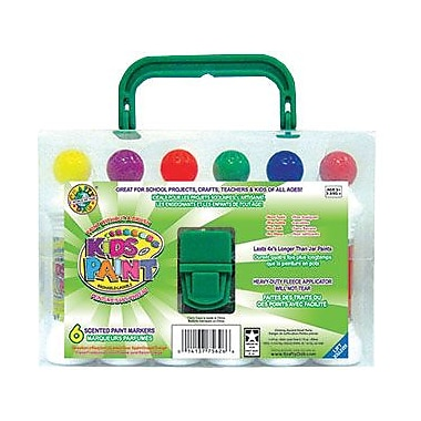Crafty Dab® Paint With Carrying Case, Assorted