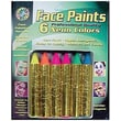 Crafty Dab® Face Paint Crayons, Neon Colors