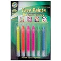 Crafty Dab® Face Paint Push-Ups, Neon Colors
