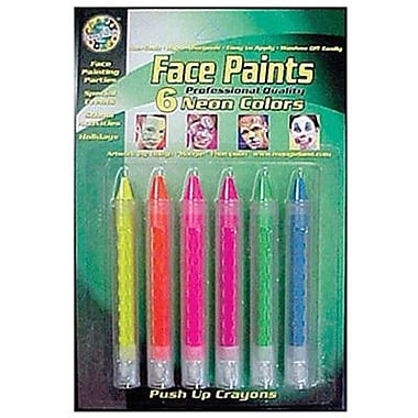 Crafty Dab Face Paint, 6/Pack (CV-80040)