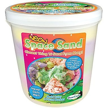 Dunecraft Neon Space Sand Science Bucket