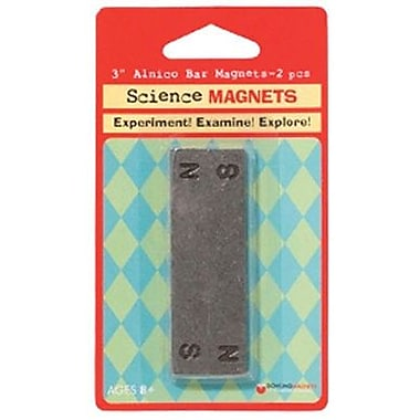Dowling Magnets 731011 3in. Alnico Bar Magnet, Black