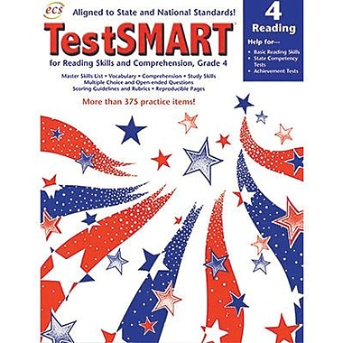 ECS Learning Systems TestSMART® Student Practice Book, Grades 4th