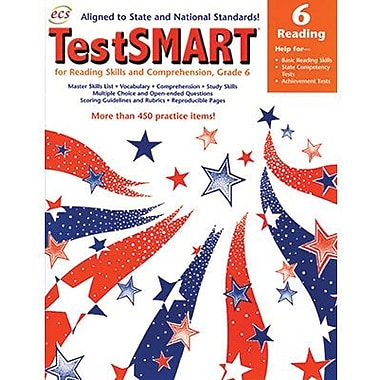 ECS Learning Systems TestSMART® Student Practice Book, Grades 6th