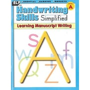 Essential Learning™ Handwriting Skills Simplified - Learning Manuscript Writing Book
