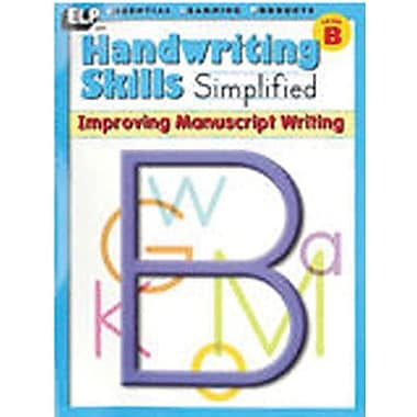 Essential Learning™ Handwriting Skills Simplified - Improving Manuscript Writing Book