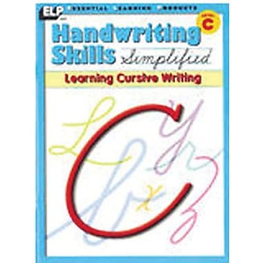 Essential Learning™ Handwriting Skills Simplified - Learning Cursive Writing Book