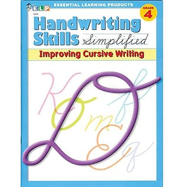 Essential Learning™ Handwriting Skills Simplified - Improving Cursive Writing Book