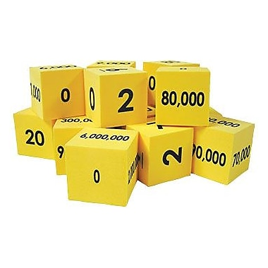 Essential Learning™ Math Place Value Cubes