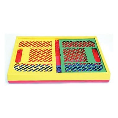 Early Childhood Resources® Assorted Collapsible Crate With Vented Sides