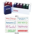 Early Childhood Resources® Self-Inking Teacher Stamps With Stand