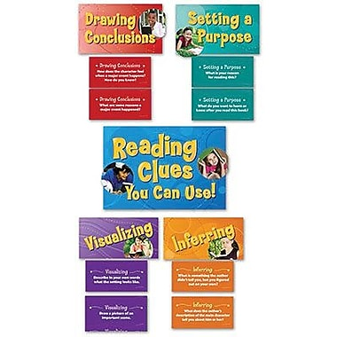 Edupress® Bulletin Board Set, Reading Comprehension Strategies