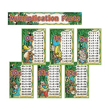 Edupress EP-2277 Multiplication Monkeys Bulletin Board Set