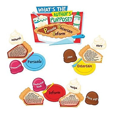 Edupress® Bulletin Board Set, Author's Purpose
