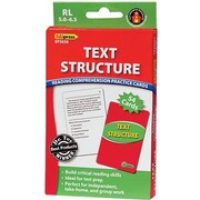 Edupress® Reading Comprehension Practice Card, Text Structure, Reading Level 5.0 - 6.5