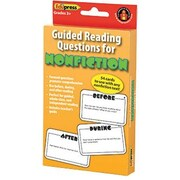 Edupress E3W-EP3428 Guided Reading Questions for Nonfiction Card, Grade 3+