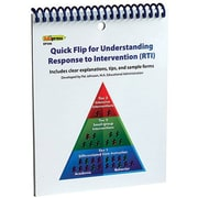 Edupress® Quick Flip For Understanding Response To Intervention (RTI) Resource Book