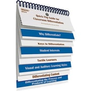 Edupress EP-619 Quick Flip For Classroom Differentiation Resource Book, Grade 4