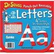 Eureka® Dr. Seuss™ 4in. Reusable Letters Cut-Outs, Red and White