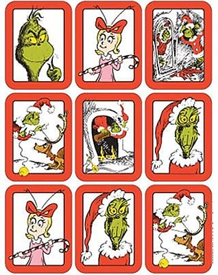 Eureka Stickers, Dr. Seuss The Grinch Giant