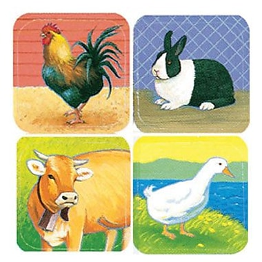 Eureka® Stickers, Farm Animals