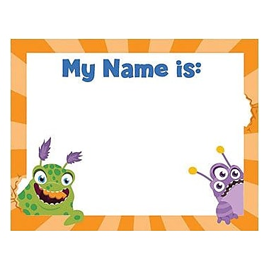 Eureka® Infant - 3rd Grades Name Tag, Alphabets