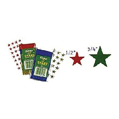 Eureka® Stars Stickers, Assorted Foil