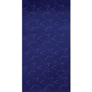 Eureka® Stars Stickers, Blue Foil, 1/2""