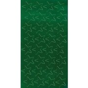 "Eureka® 1/2"" Stars Stickers, Green Foil"