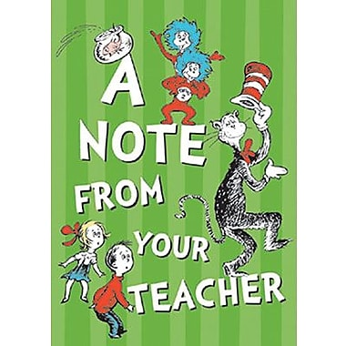 Eureka® Cat In The Hat Teacher Postcard