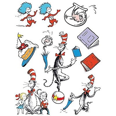 Eureka® Window Cling, Cat In The Hat Characters