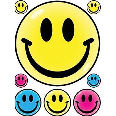 Eureka® Window Cling, Smile Faces